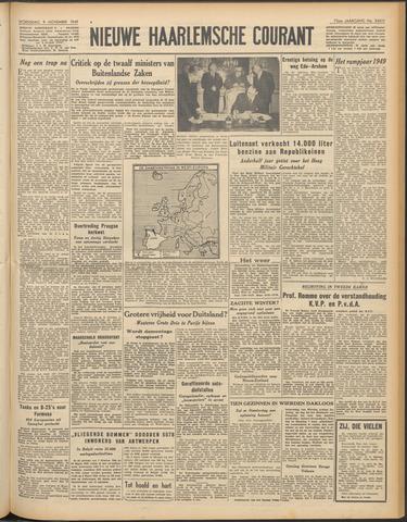 Nieuwe Haarlemsche Courant 1949-11-09