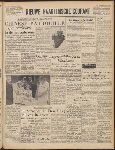 Nieuwe Haarlemsche Courant 1951-08-06