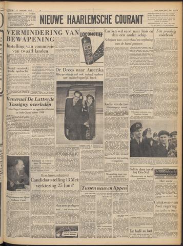 Nieuwe Haarlemsche Courant 1952-01-12