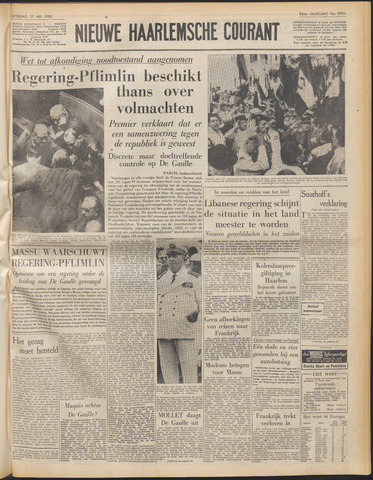 Nieuwe Haarlemsche Courant 1958-05-17