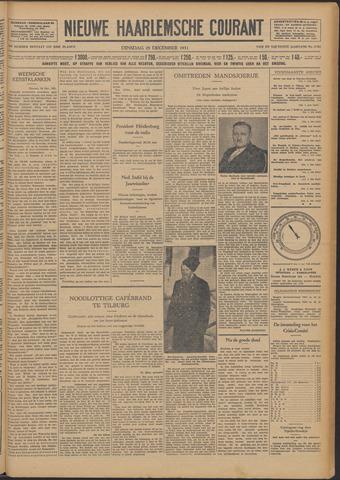 Nieuwe Haarlemsche Courant 1931-12-29