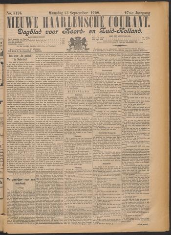 Nieuwe Haarlemsche Courant 1902-09-15