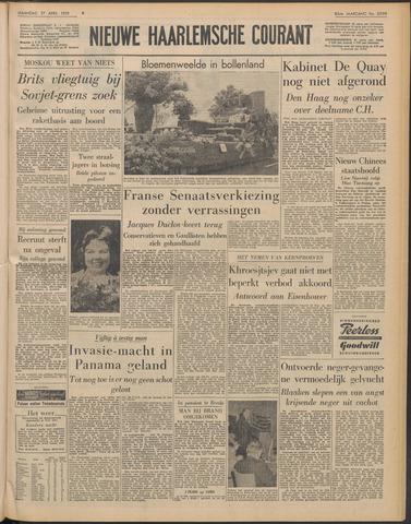 Nieuwe Haarlemsche Courant 1959-04-27