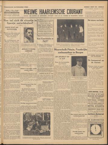 Nieuwe Haarlemsche Courant 1939-03-08