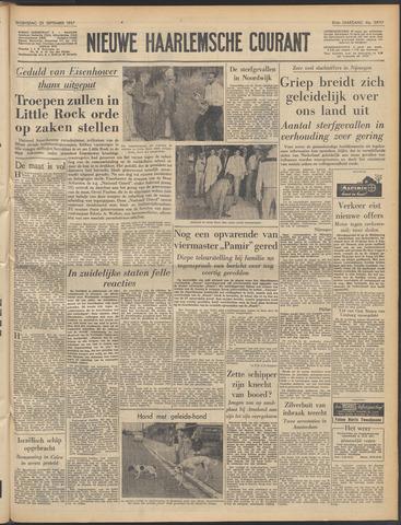 Nieuwe Haarlemsche Courant 1957-09-25