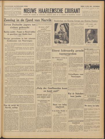 Nieuwe Haarlemsche Courant 1940-04-14