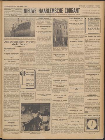 Nieuwe Haarlemsche Courant 1937-11-27