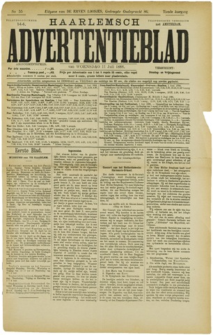 Haarlemsch Advertentieblad 1888-07-11