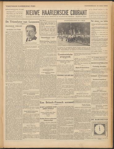 Nieuwe Haarlemsche Courant 1932-07-14