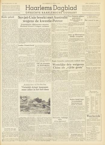 Haarlem's Dagblad 1954-04-24