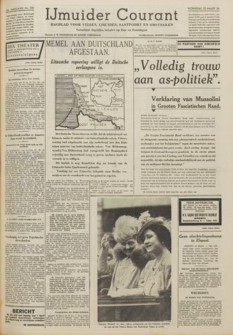 IJmuider Courant 1939-03-22