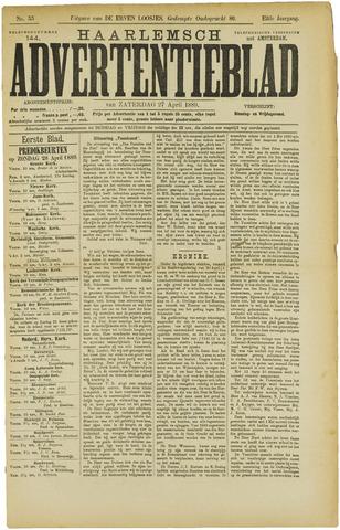 Haarlemsch Advertentieblad 1889-04-27