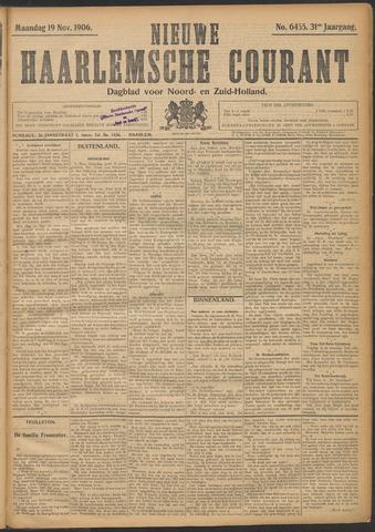 Nieuwe Haarlemsche Courant 1906-11-19