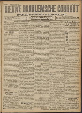 Nieuwe Haarlemsche Courant 1914-09-04