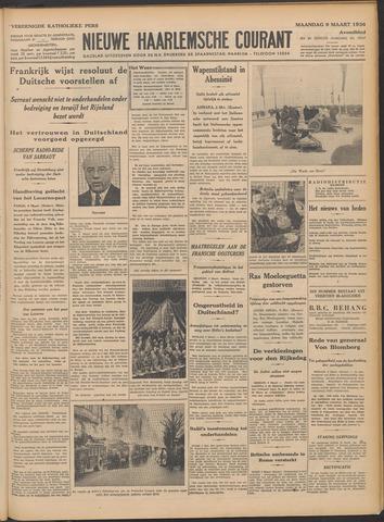 Nieuwe Haarlemsche Courant 1936-03-09