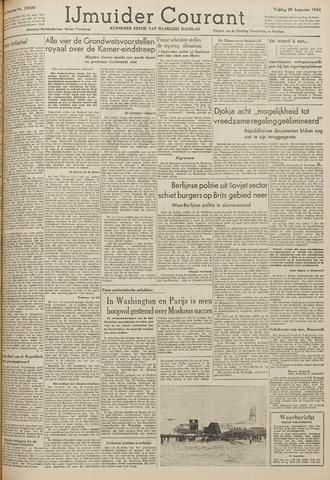 IJmuider Courant 1948-08-20