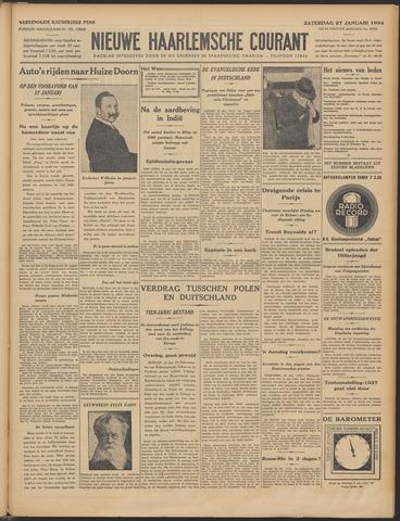 Nieuwe Haarlemsche Courant 1934-01-27