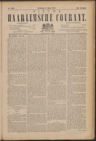 Nieuwe Haarlemsche Courant 1887-03-24