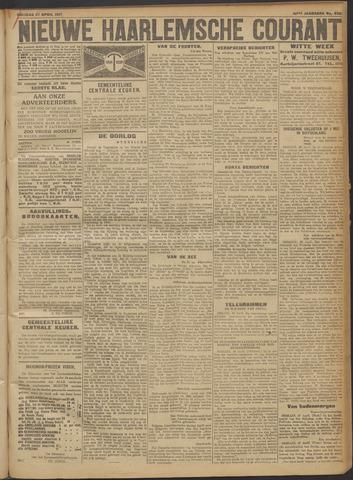 Nieuwe Haarlemsche Courant 1917-04-27