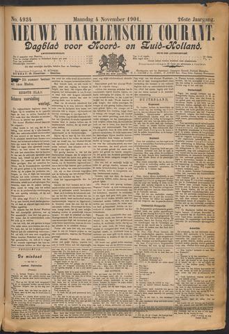 Nieuwe Haarlemsche Courant 1901-11-04
