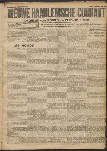 Nieuwe Haarlemsche Courant 1914-11-11