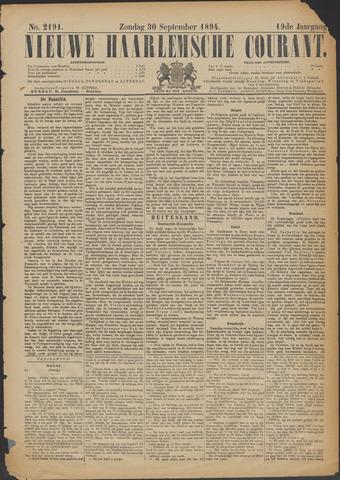 Nieuwe Haarlemsche Courant 1894-09-30