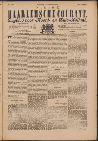 Nieuwe Haarlemsche Courant 1898-09-22