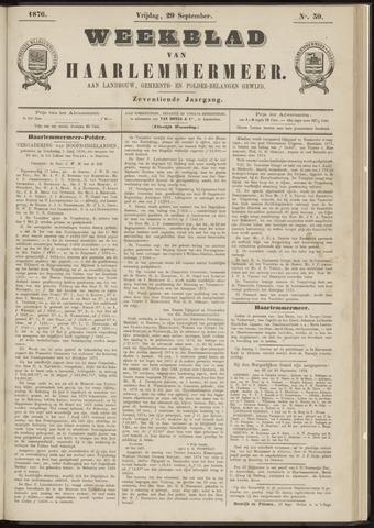 Weekblad van Haarlemmermeer 1876-09-29
