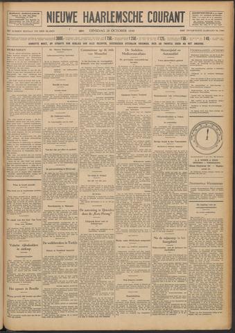 Nieuwe Haarlemsche Courant 1930-10-28