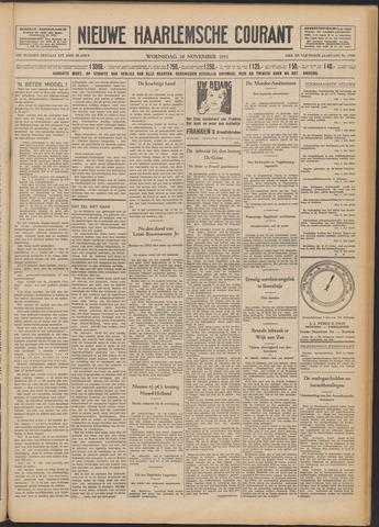 Nieuwe Haarlemsche Courant 1931-11-18