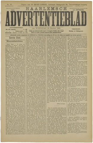Haarlemsch Advertentieblad 1900-10-24