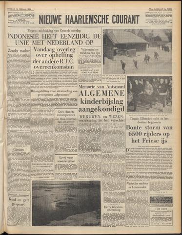 Nieuwe Haarlemsche Courant 1956-02-14