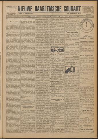 Nieuwe Haarlemsche Courant 1925-08-21