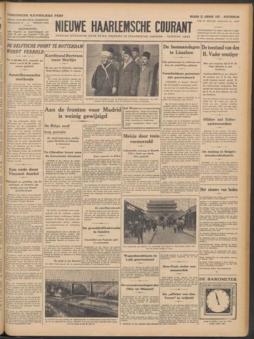 Nieuwe Haarlemsche Courant 1937-01-22