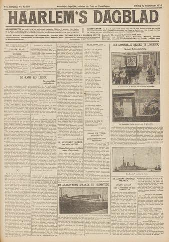 Haarlem's Dagblad 1926-09-10