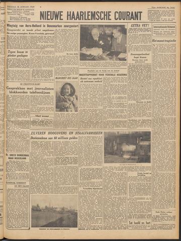 Nieuwe Haarlemsche Courant 1949-01-18
