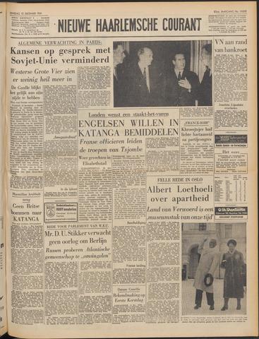 Nieuwe Haarlemsche Courant 1961-12-12