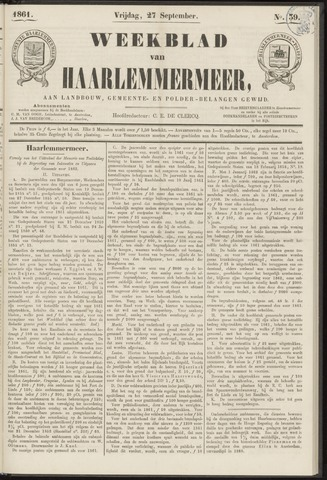 Weekblad van Haarlemmermeer 1861-09-27