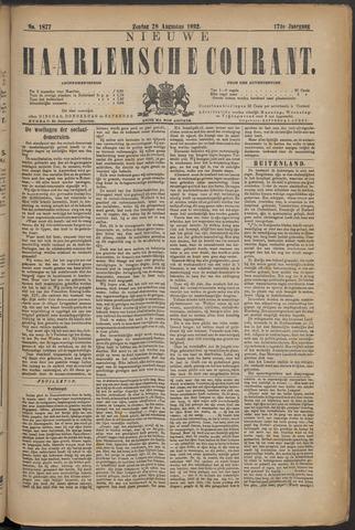 Nieuwe Haarlemsche Courant 1892-08-28