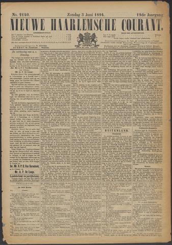 Nieuwe Haarlemsche Courant 1894-06-03