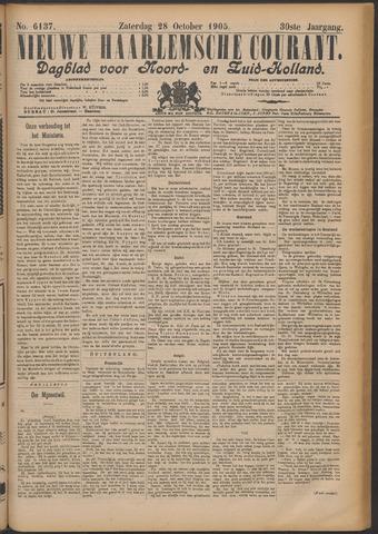 Nieuwe Haarlemsche Courant 1905-10-28