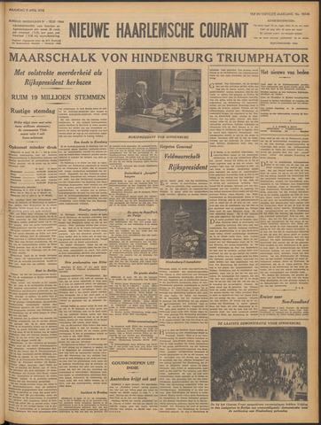 Nieuwe Haarlemsche Courant 1932-04-11