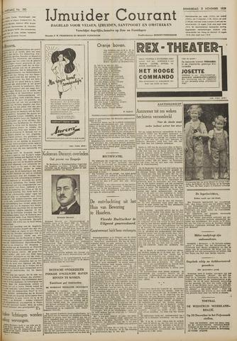 IJmuider Courant 1939-11-02