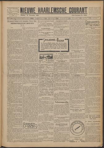 Nieuwe Haarlemsche Courant 1924-11-18