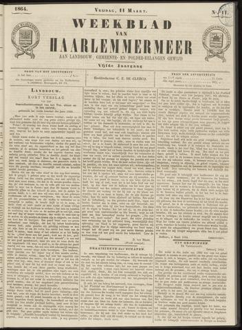 Weekblad van Haarlemmermeer 1864-03-11