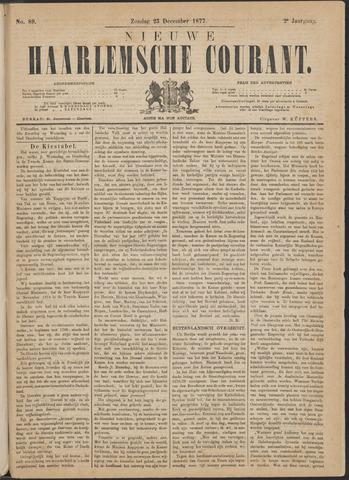 Nieuwe Haarlemsche Courant 1877-12-23