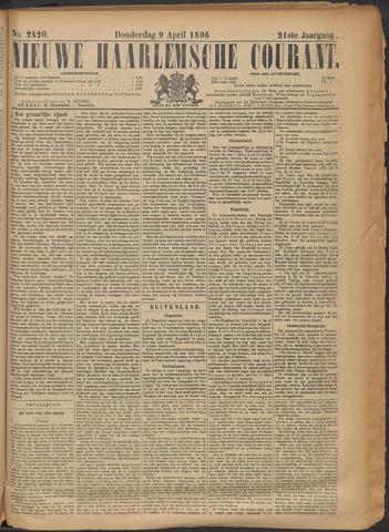 Nieuwe Haarlemsche Courant 1896-04-09