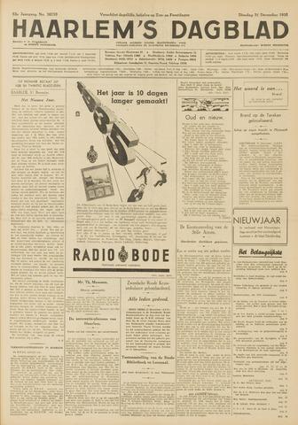 Haarlem's Dagblad 1935-12-31