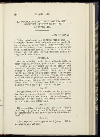 Raadsnotulen Heemstede 1941-04-24