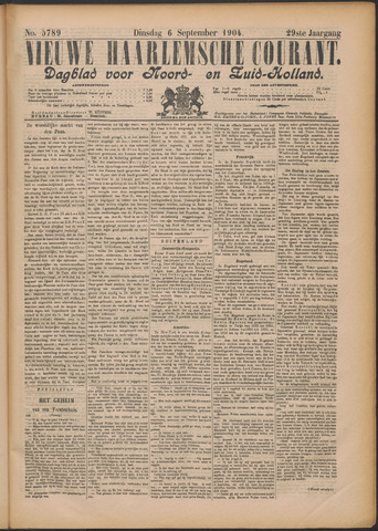 Nieuwe Haarlemsche Courant 1904-09-06